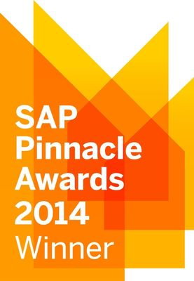 SAP Pinnacle awards 2014