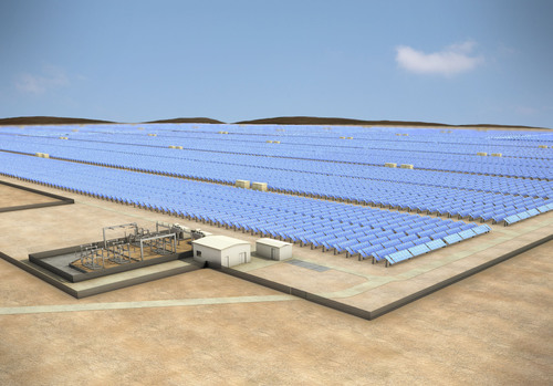 100 MW Solar Facility to be built in Chile by SunEdison for CAP Mining.  (PRNewsFoto/SunEdison)