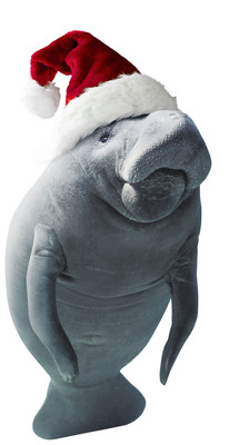 ManateeMessage.com encourages you to connect this holiday season.  (PRNewsFoto/The Beaches of Fort Myers & Sanibel)