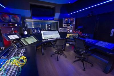 Snoop Dogg's Battleship Studio in his Beach City Music complex. Inspirational design and integration by Westlake Pro. Photo: Jukka Montonen