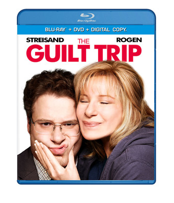 Just in Time for Mother's Day, the Mother of All Road Trips - The Guilt Trip - Starring Barbra Streisand & Seth Rogen hits the road on Blu-ray, DVD, Digital Download and On Demand April 30, 2013. (PRNewsFoto/Paramount Home Media Distribution) (PRNewsFoto/PARAMOUNT HOME MEDIA)