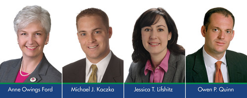 McDonald Hopkins Law Firm Elects Four Members: Anne Owings Ford, Michael J. Kaczka, Jessica T.