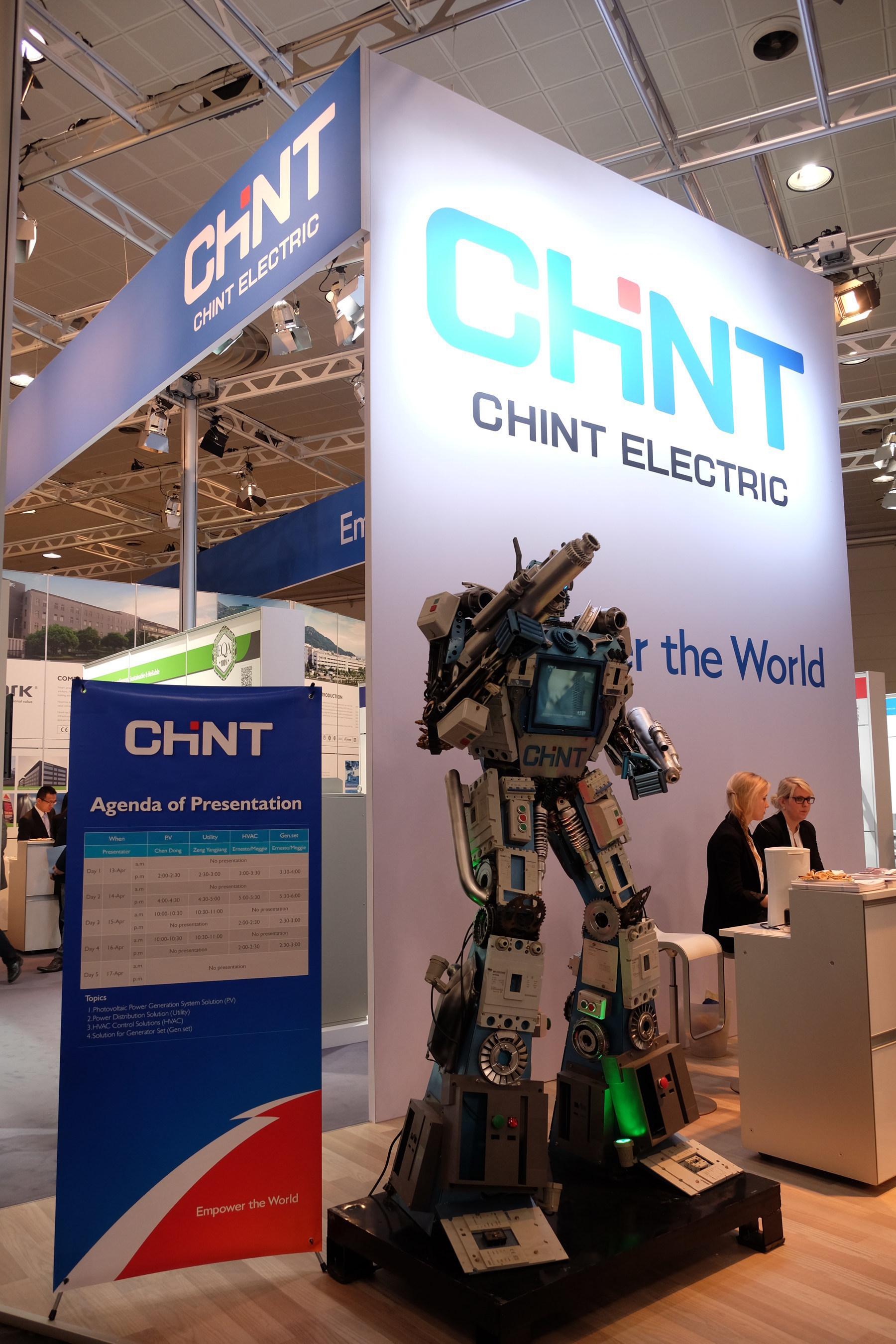 Das CHINT International Marketing Forum feiert auf der Messe in Hannover mit der Vorstellung zwei