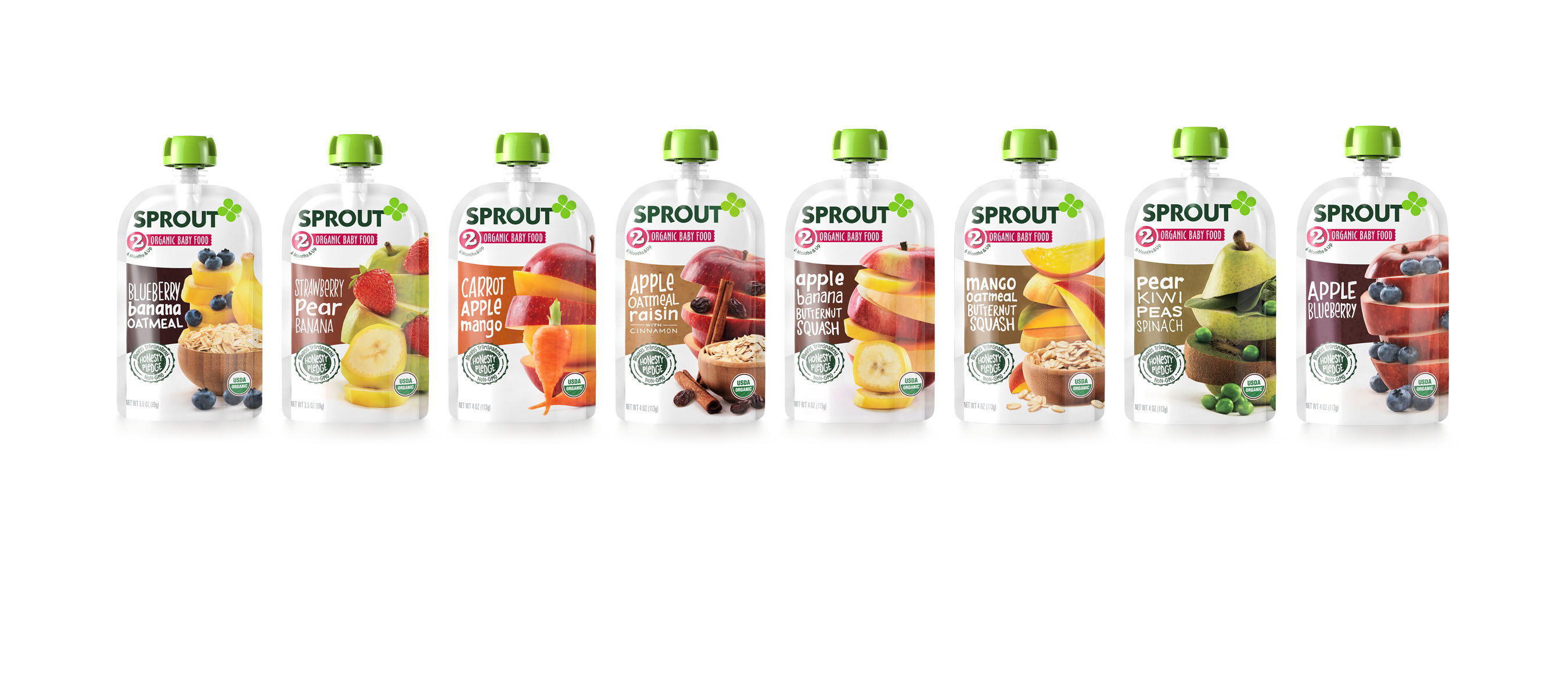 Sprout Foods Clear Packaging