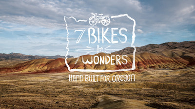 Travel Oregon launches epic scavenger hunt. 7Bikes for 7Wonders. #traveloregon #7Bikes7Wonders