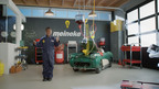 Meineke 'Kid Mechanic' Simplifies Car Care; SoulPancake's 'Kid President'.  (PRNewsFoto/Meineke Car Care Centers, LLC)