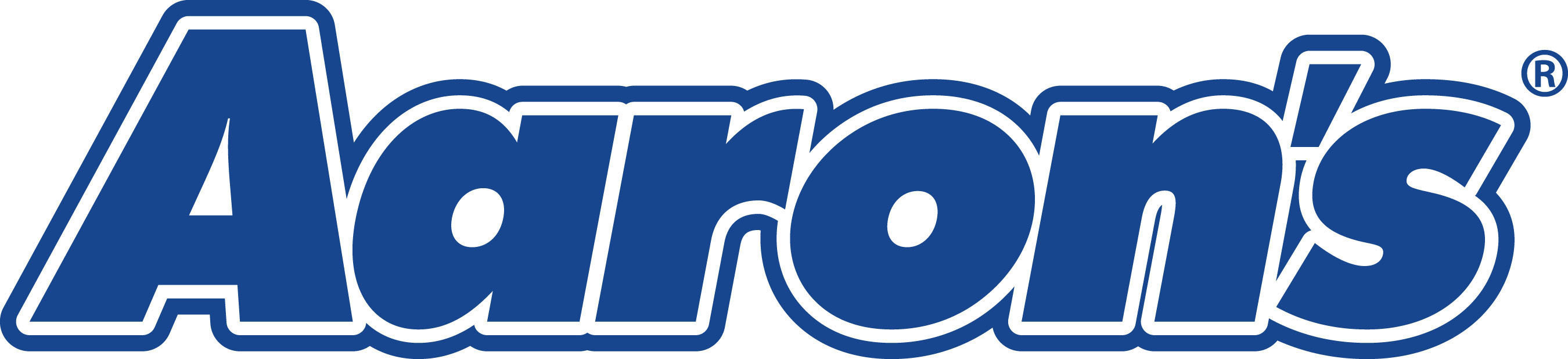 Aaron's logo.
