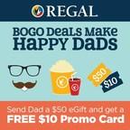 Regal Offers BOGO Deal to Celebrate Dads
