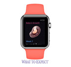 Everyday Health Inc. Introduces What to Expect Pregnancy Clock Apple Watch App.