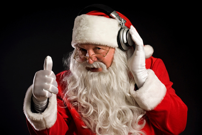Holiday music before Thanksgiving? Bah humbug!.  (PRNewsFoto/Cricket Communications, Inc.)