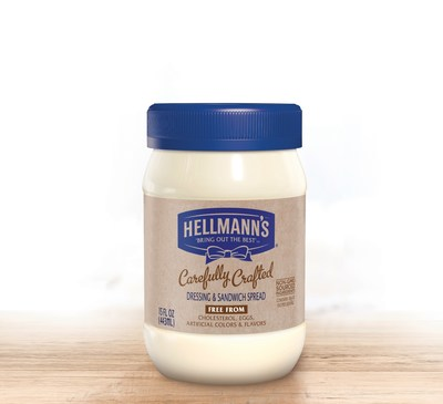 Hellmann's delivers even more choices with the introduction of an eggless spread, Hellmann's Carefully Crafted.