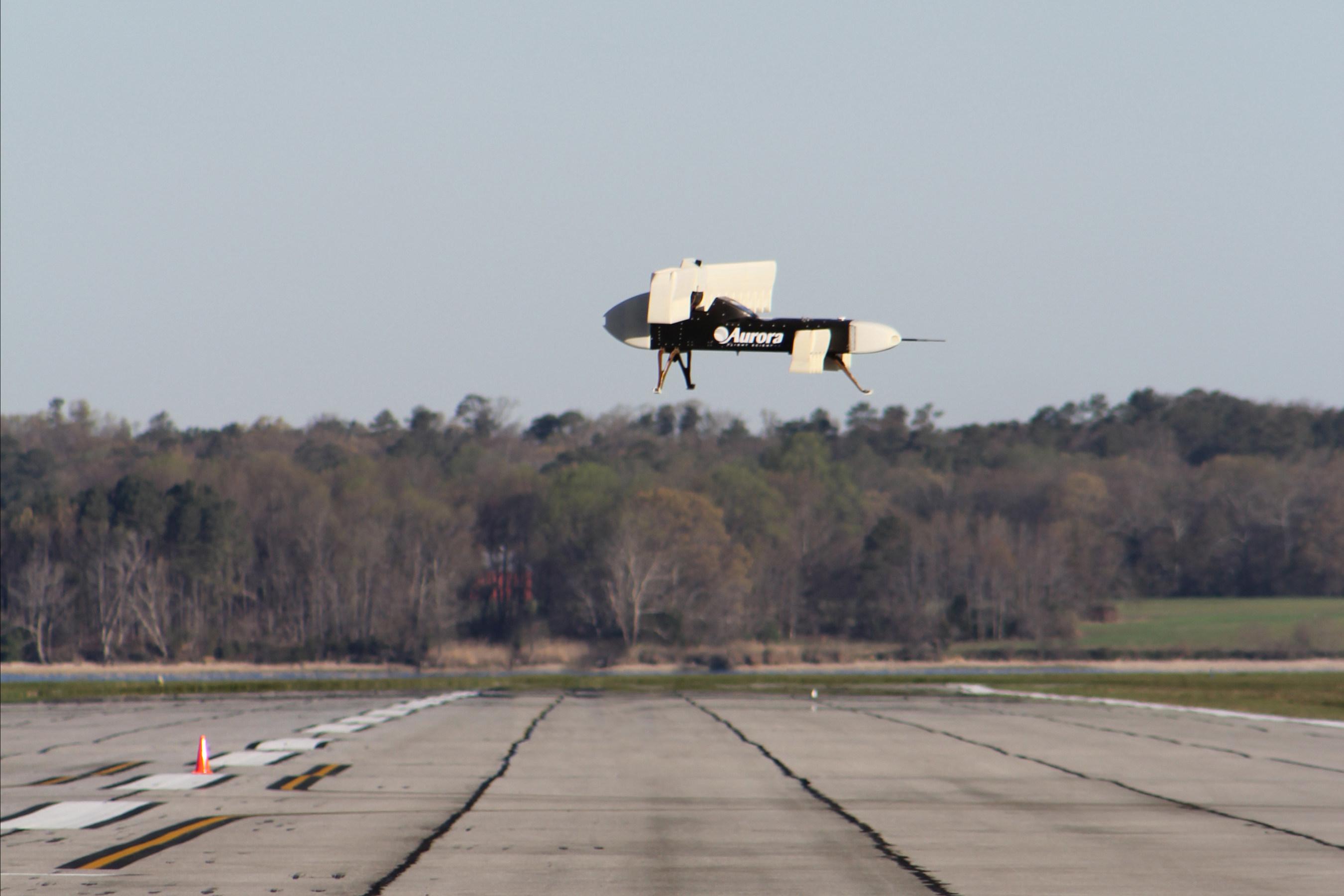 LightningStrike VTOL X-Plane subscale vehicle demonstrator takes to the sky