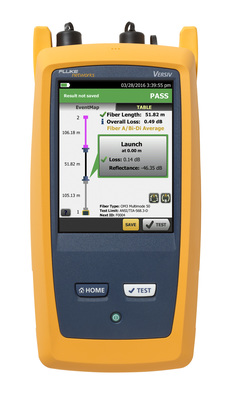 OptiFiber Pro OTDR with SmartLoop(TM) features Fluke Networks patent-pending algorithms to test two separate fiber links at one time in both directions from one end in a single test. SmartLoop provides instant bi-directional averaged results as required by the Telecommunications Industry Associations Optical Fiber Cabling Component Standard (TIA-568.3-D), and promises to reduce the time required for testing fiber by 50 percent or more. SmartLoop comes standard with the OptiFiber Pro OTDR.