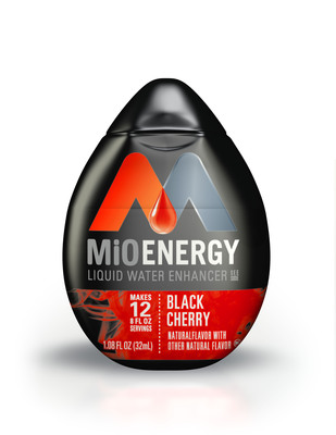 7-Eleven stores to offer free MiO Energy Black Cherry Liquid Water Enhancer this Tuesday while supplies last.  (PRNewsFoto/7-Eleven, Inc.)