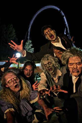 fright fest will also feature more freakishly frightening characters lurking about in their new areas throughout the park its thrills by day and fright by