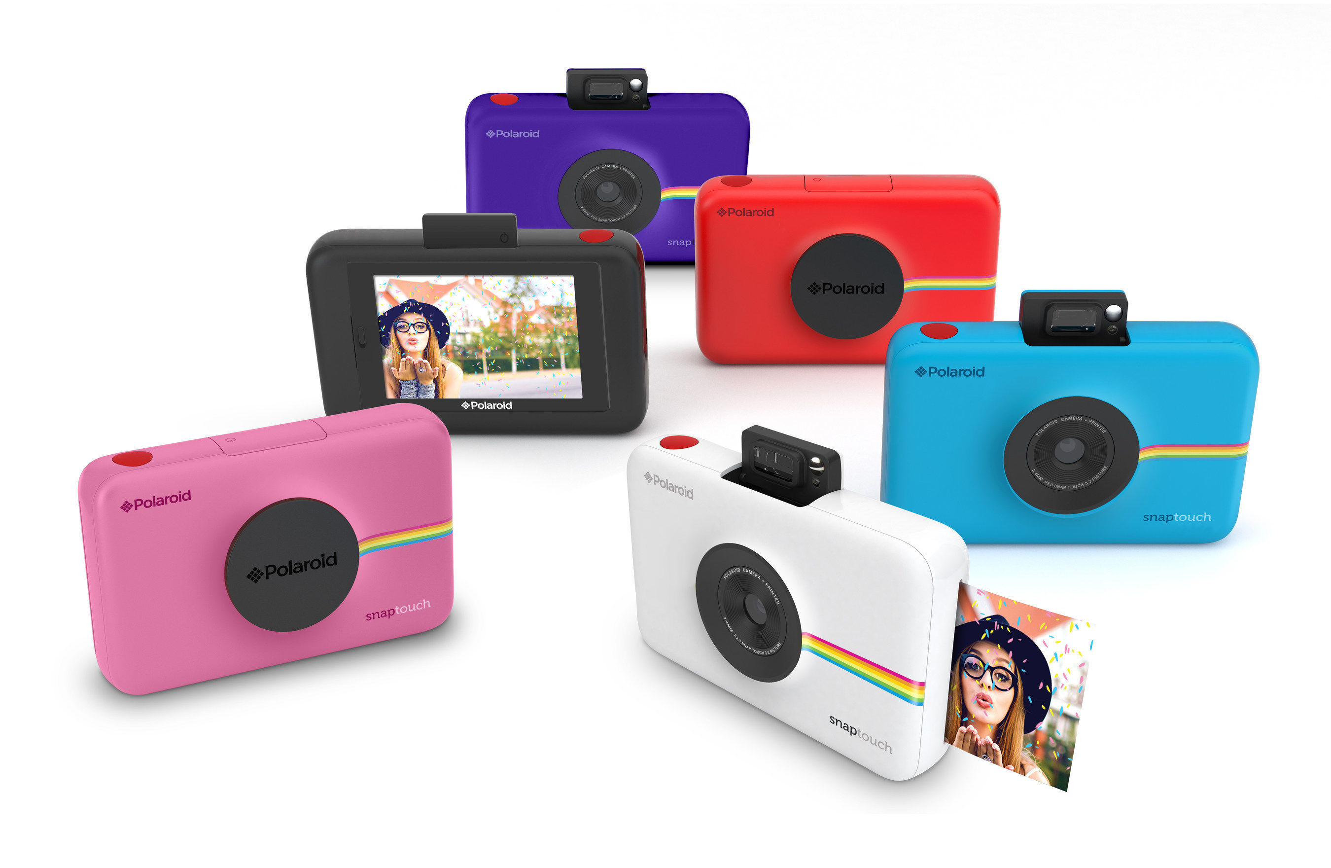 The Polaroid Snap Touch instant digital camera is now available for pre-order.