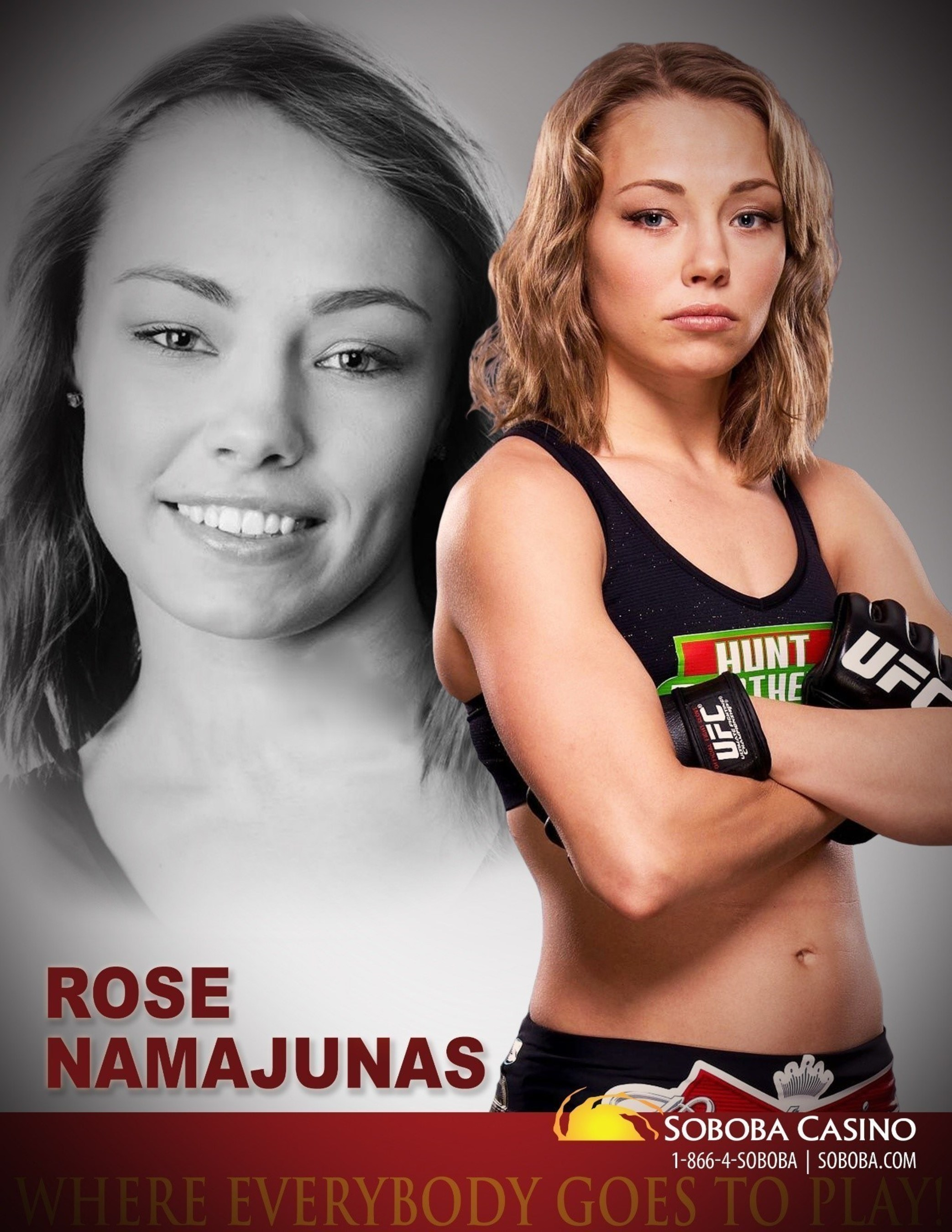 Strawweight fighter Rose Namajunas scheduled to meet, sign autographs, and take pictures with fans on November 14th.