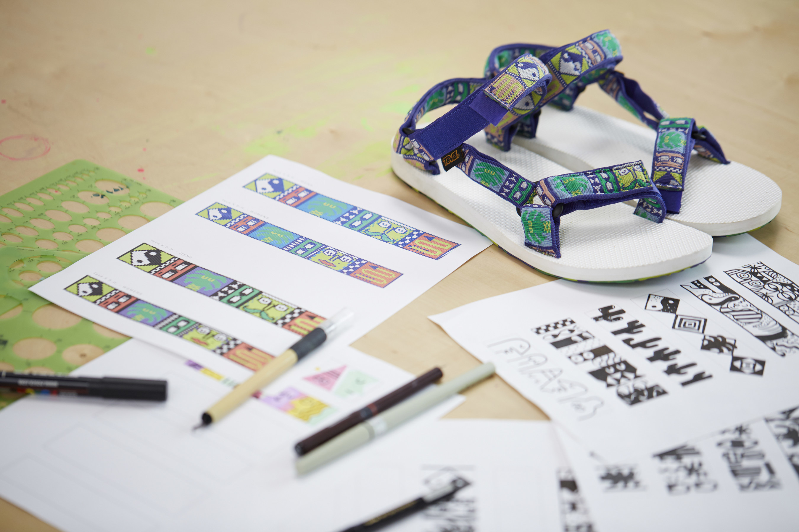 Teva introduces a new Artist Series collection featuring artwork by National Forest, turning the iconic sandal silhouette into a canvas for California designers.