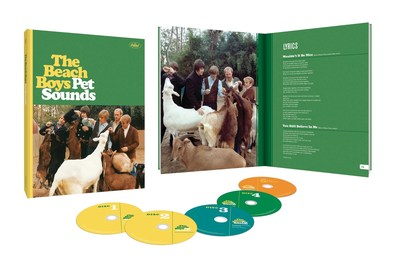 The Beach Boys' iconic 1966 album, Pet Sounds, is universally hailed as one of popular music's most important recordings of all time. May 16 marks the acclaimed album's 50th anniversary, and to commemorate the milestone, The Beach Boys and Capitol/UMe will release special expanded editions of the recorded masterpiece, as well as a range of exclusive Pet Sounds merchandise. Available now for preorder, Pet Sounds (50th Anniversary Edition) will be released worldwide on June 10 in several configurations, including a 4CD/Blu-ray Audio collectors edition presented in a hardbound book; a 2CD and digital deluxe edition; and 180-gram LPs.