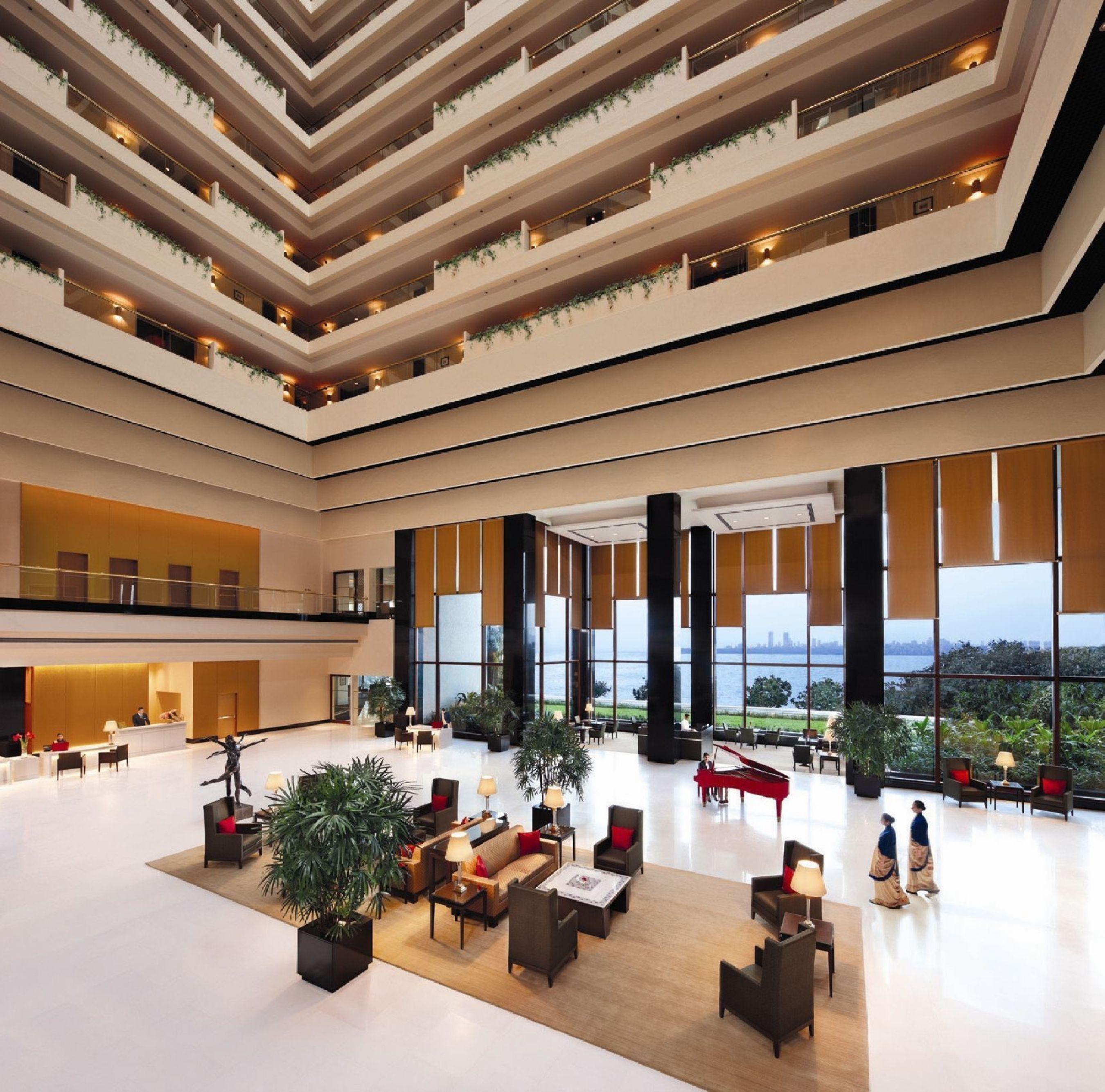 The Lobby, The Oberoi, Mumbai (PRNewsFoto/The Oberoi_ Mumbai)