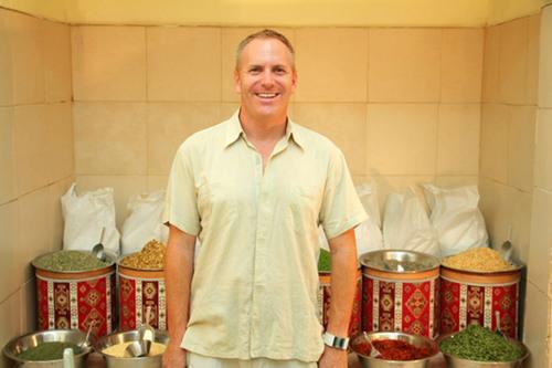 Ari Leon Fruchter, founder of Naked Sea Salt.  (PRNewsFoto/Naked Sea Salt)