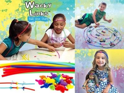 Kids build, wear, and share Wacky Links.