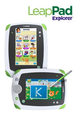 LeapFrog Enterprises, Inc. (NYSE:LF) today announced LeapPad Explorer(TM), a new multifunctional learning tablet for kids.  (PRNewsFoto/LeapFrog Enterprises, Inc.)