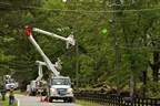 Georgia Power line crews work to safely clear damage and restore power to customers following a summer storm.