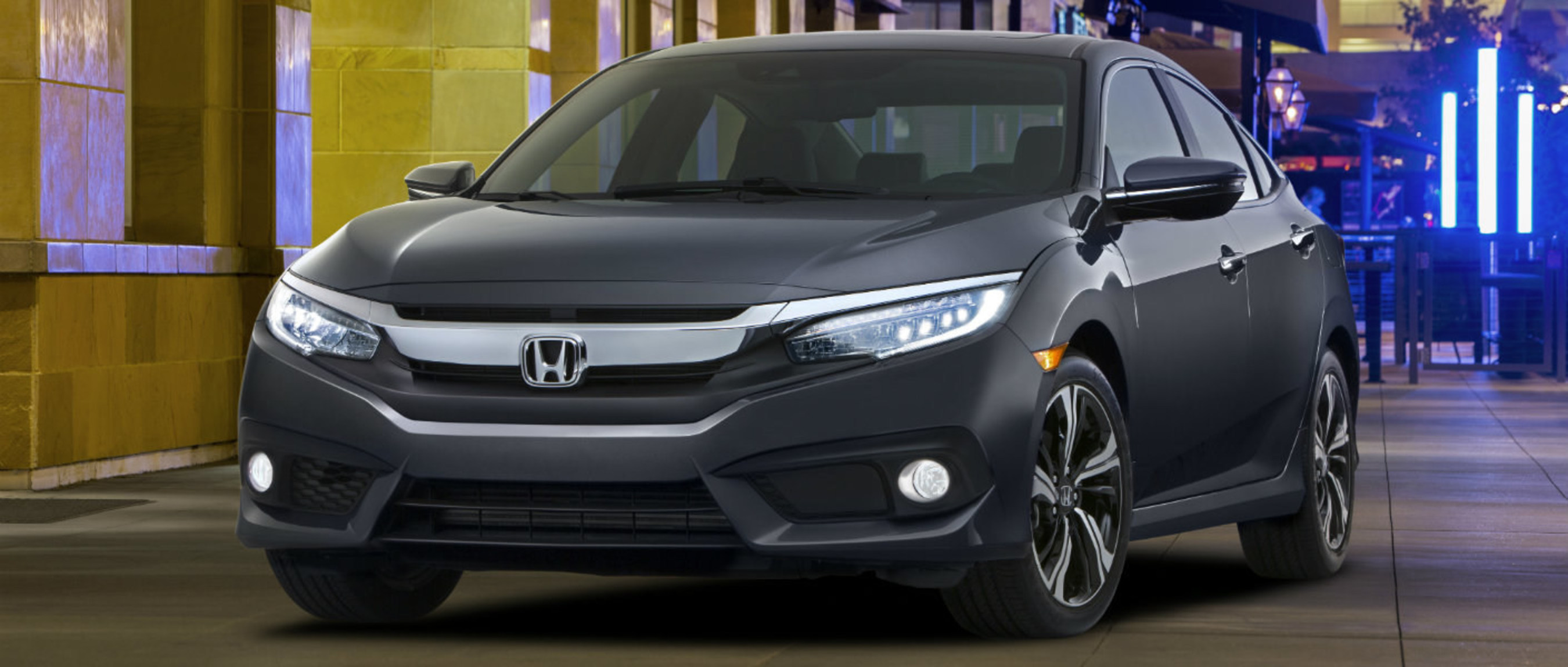 Highly-anticipated 2016 Honda Civic now available at Edmonton dealership