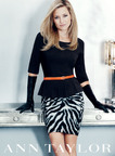 Kate Hudson Returns as the Face for Ann Taylor's Holiday 2012 Ad Campaign.  (PRNewsFoto/Ann Taylor)