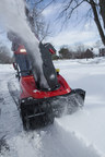 Briggs & Stratton SnowShredder Serrated Auger clears heavily compacted snow. (PRNewsFoto/Briggs & Stratton Power Products)