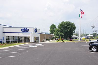 The New Magneti Marelli Automotive Lighting plant in Pulaski, Tennessee