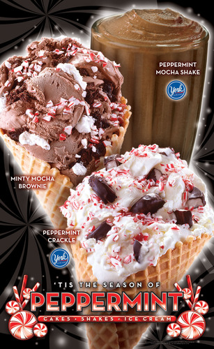 Cold Stone Creamery Launches Holiday 2013 Peppermint Promotion.  (PRNewsFoto/Cold Stone Creamery)