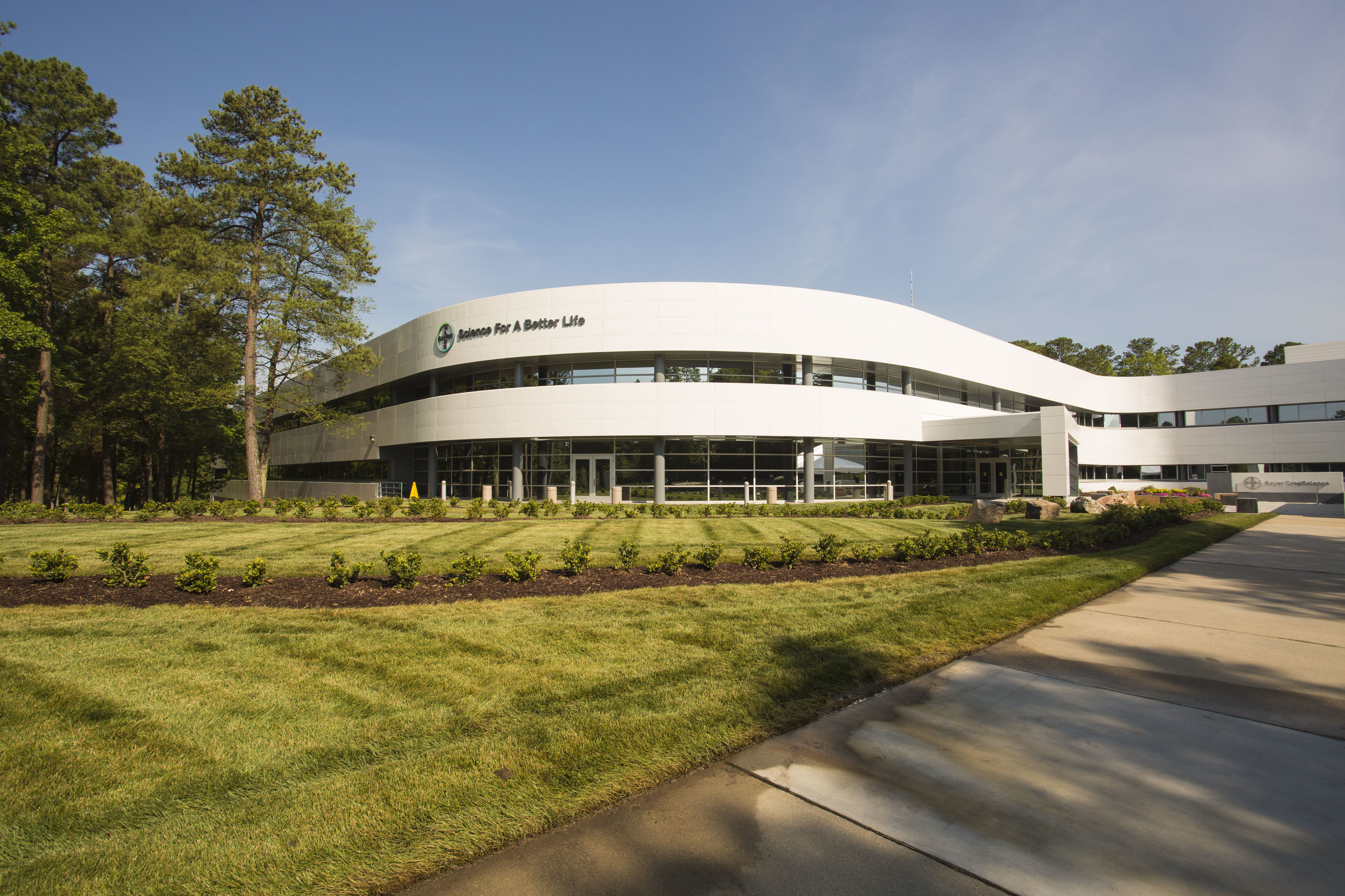 Today, Bayer CropScience celebrated two recent investment milestones: the completion of a $33 million office modernization project and the groundbreaking of Greenhouse 6, a $34 million research facility at its Research Triangle Park (RTP) headquarters.