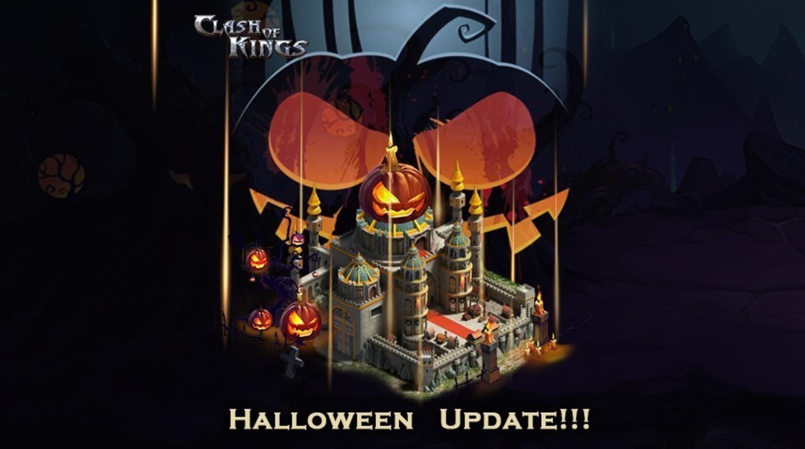 Sortie de la mise à jour de Clash of Kings pour Halloween : des jeux gratuits maintenant