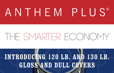 Verso introduces Anthem Plus® 120 lb. and 130 lb. gloss and dull covers. Anthem Plus® is an all-American economy coated paper with the flexibility to perform in virtually every sheetfed printing application.