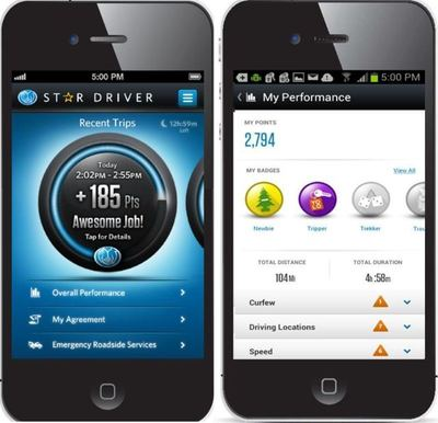 With Star Driver® powered by the new Drivewise® Mobile app, Allstate becomes the first major insurer to take telematics mobile, while rewarding safe driving by teens and supporting families and safety.