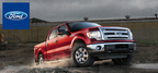The 2014 Ford F-150's EcoBoost engine delivers high torque and fuel economy to Cincinnati-area truck enthusiasts.  (PRNewsFoto/Mike Castrucci Ford of Alexandria)