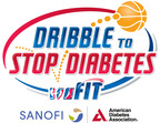 NBA Family, American Diabetes Association, and Sanofi US Tip Off 2013 Dribble To Stop Diabetes Awareness Campaign
