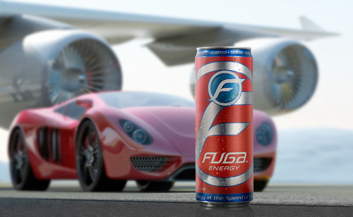 "Delivering ""Energy at the speed of life,"" Fuga Energy Drink launches in Rexam 12oz. SLEEK cans.  ..."