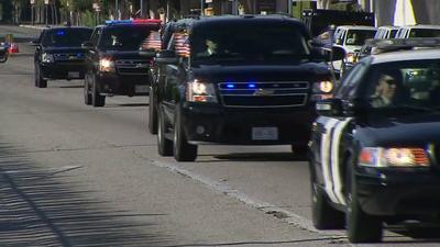 Motorcade en route.  (PRNewsFoto/Scaletta Armoring)