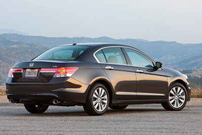 The 2012 Honda Accord Sedan.  (PRNewsFoto/American Honda Motor Co., Inc.)