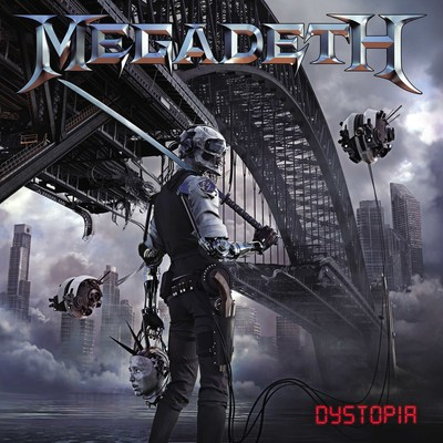 NEW ALBUM DYSTOPIA STORMS ON TO THE TOP 200 CHART AT NUMBER 3