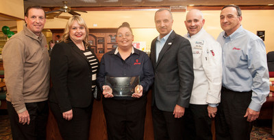 The National Restaurant Association reached a new milestone by issuing its 6 millionth ServSafe certification, underscoring its place as the number-one food safety training program in the United States and abroad.Friendly's manager Errin Davis, who started her career as a server in 1999, earned her certificate in Providence, Rhode Island. The National Restaurant Association and the RI Hospitality Association recognized Errin's achievement and the company's commitment to food safety at a recent ceremony at the restaurant.