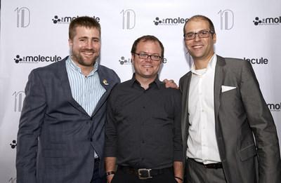 Molecule Partners Andrew Bly, Chris Healer and Luke DiTommaso