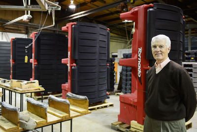 REMCON Plastics Owner Pete Connors.  (PRNewsFoto/REMCON Plastics, Inc.)