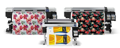 Epson SureColor F6200, F7200 and F9200 deliver industry leading performance and unparalleled image quality for a range of digital, textile and apparel applications.