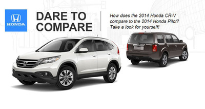 The CR-V and Pilot are two of the best-selling SUVs in the Honda lineup.  (PRNewsFoto/Benson Honda)