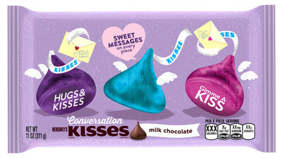 HERSHEY'S KISSES Conversation Candies