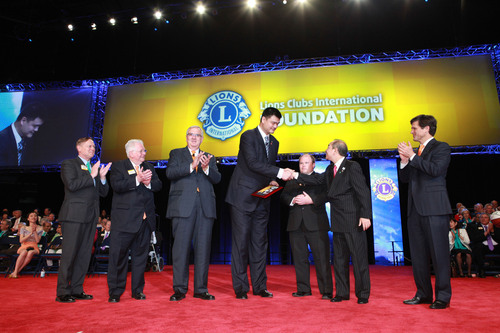 Lions Clubs International Foundation and Special Olympics announce partnership agreement at Lions Clubs ...